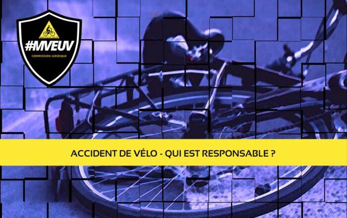 accidents de vélos, accidents de vélos et responsabilités, accident de cycliste, cyclistes accidents, cycliste accident, responsabilité cycliste accident