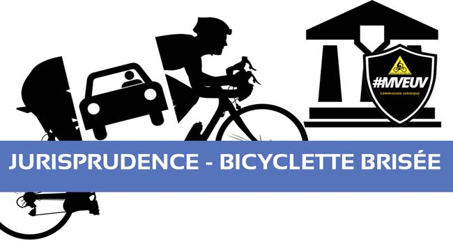 indemnisation préjudice matériel, vélo cassé, indemnisation vélo